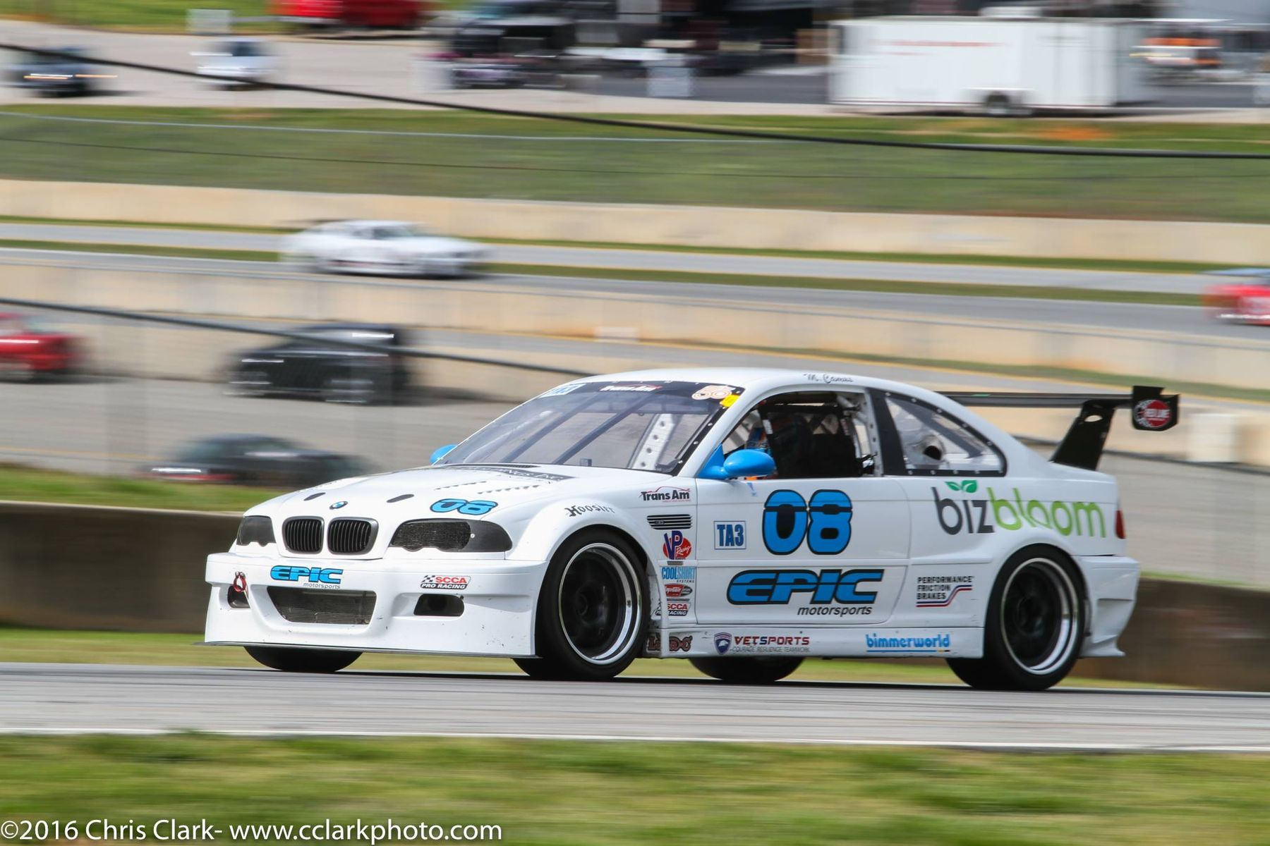 2004 BMW M3 | Michael Camus 4th at Trans Am Racing Round 2 at Road Atlanta in BMW M3 on Forgeline GA3R Wheels