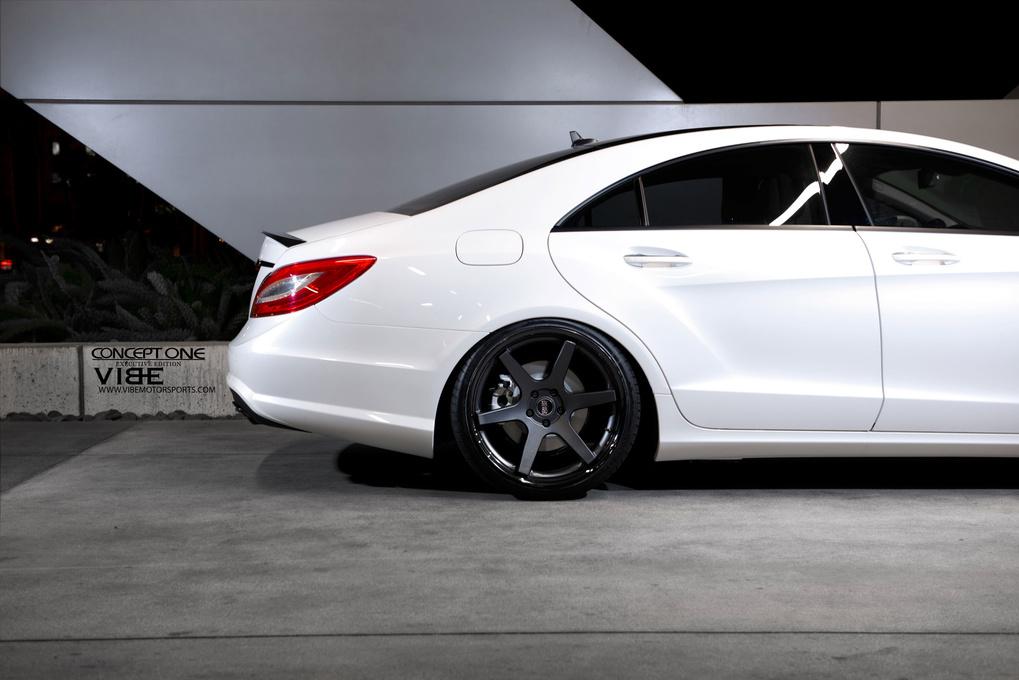 2013 Mercedes-Benz CLS-Class   2013 Mercedes-Benz CLS550 on Concept One CS6.0's