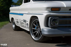 "James Otto's ""For Pete's Sake"" 1966 Chevy C10 Pro-Touring Pickup Truck on Forgeline RB3C Wheels"