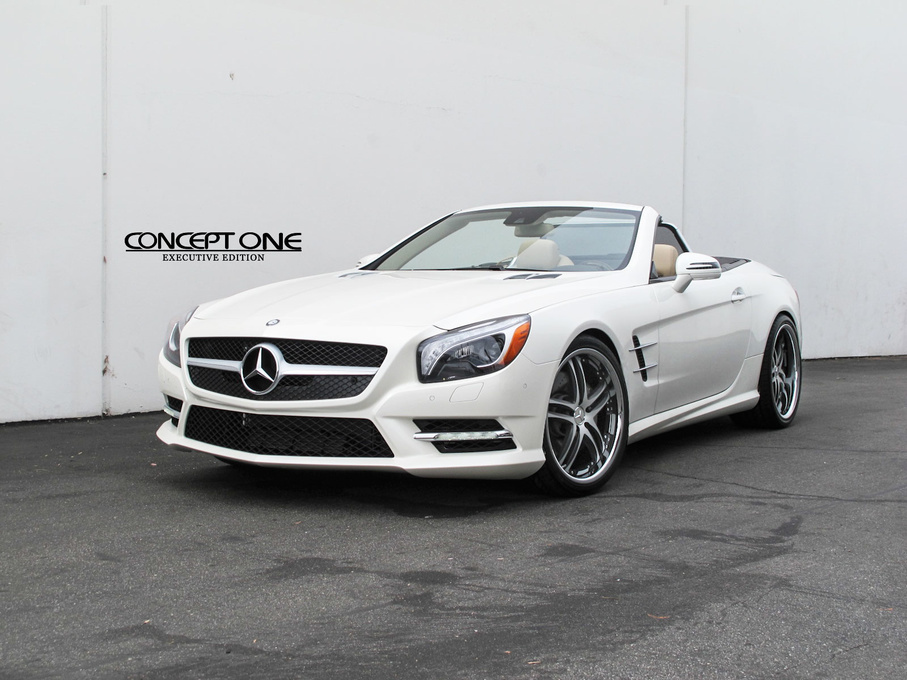 2014 Mercedes-Benz CL-Class | 2014 Mercedes-Benz E-Class Convertible on Concept One RS55's