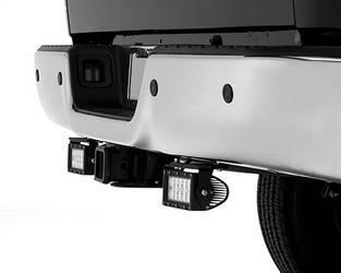 2016 Nissan Titan Rear Bumper LED Light Bar Mounts