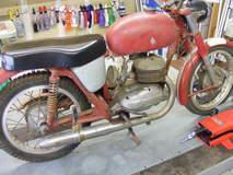 1966 Bultaco Mercurio 200 Restoration - Big Twin Motorcycles