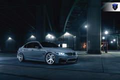 BMW M4 - Gray Side Shot