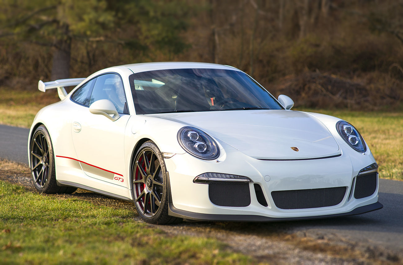 2014 Porsche 911 | Robert Laws' Porsche 991 GT3 on Center Locking One Piece Forged Monoblock Forgeline GA1R Wheels
