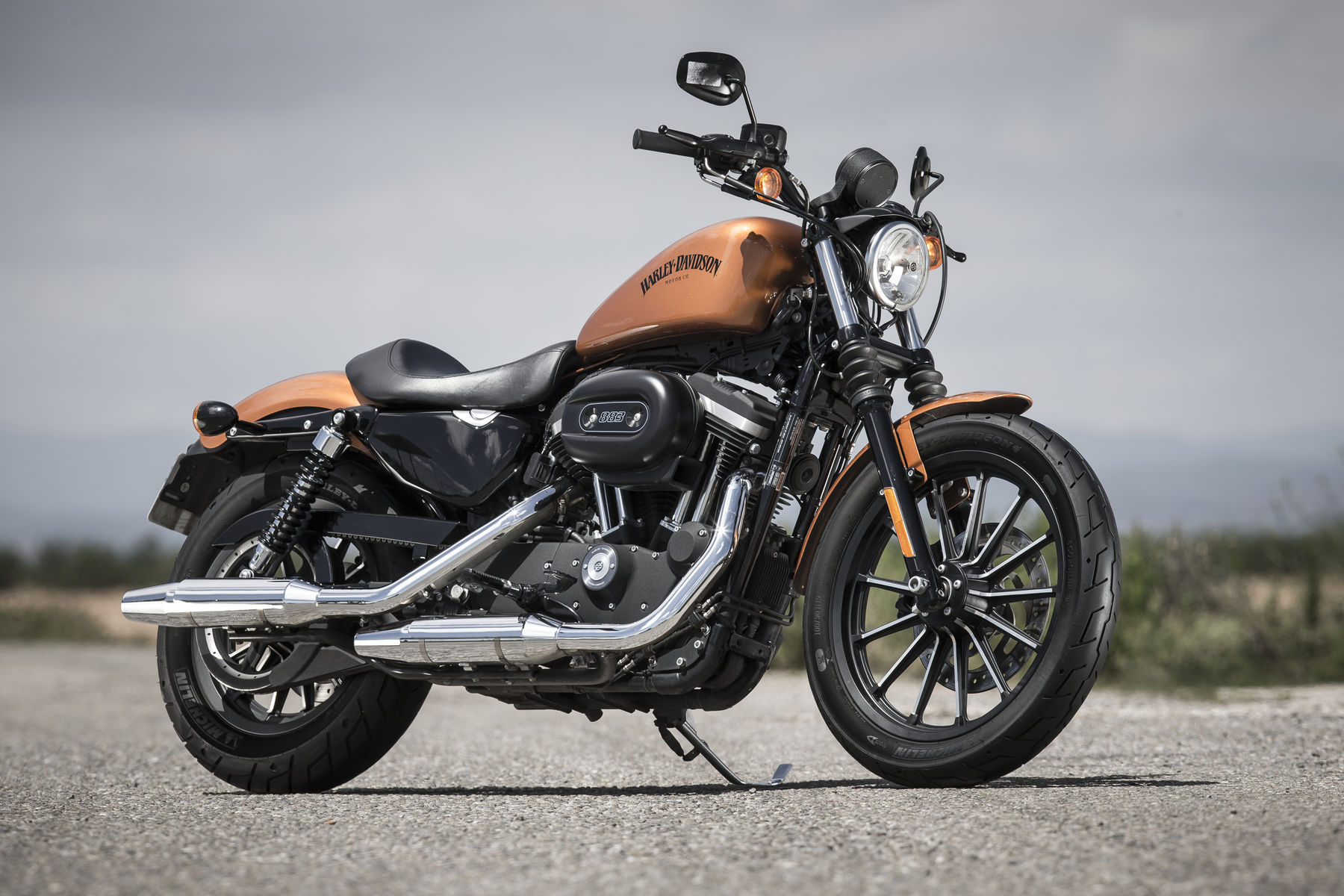 Harley-Davidson XL883N IRON   Harley-Davidson Iron 883