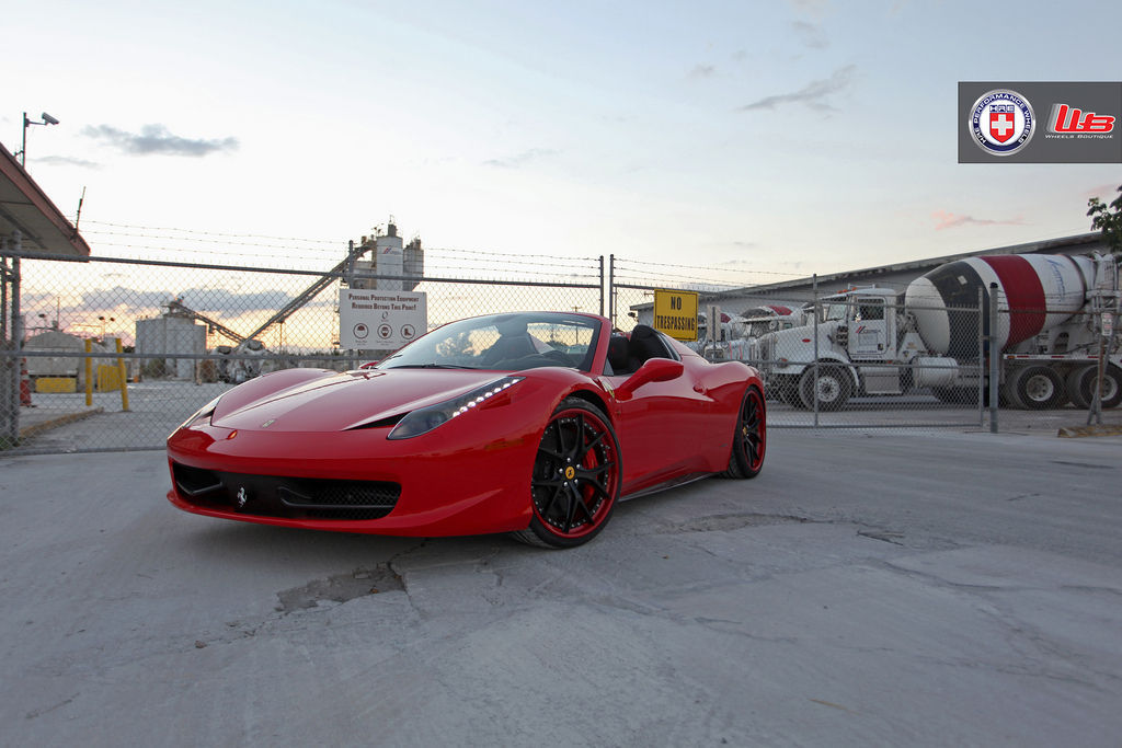 Ferrari 458 Italia | Ferrari 458 Spider on HRE S101