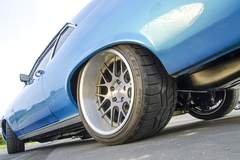 Marc Tavalero's 1971 Chevy Nova on Forgeline DE3C Wheels