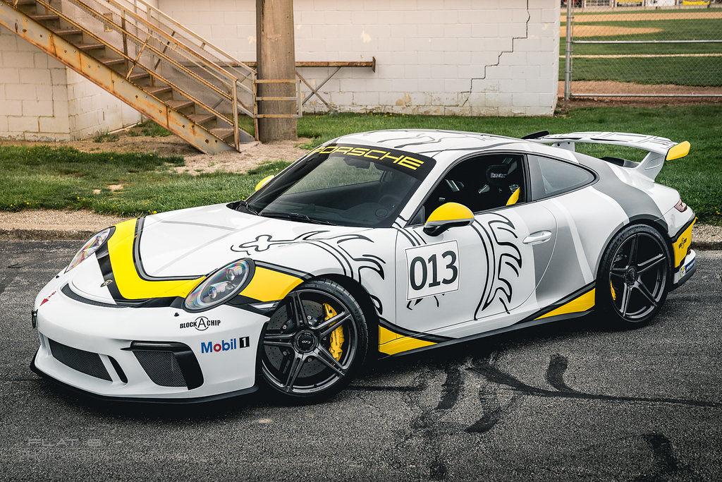 2017 Porsche 911 | Scott Forster's Porsche 991.2 GT3 on Forgeline One Piece Forged Monoblock SC1 Wheels