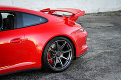 Alan C's Porsche 991 GT3 on Forgeline One Piece Forged Monoblock GE1 Wheels