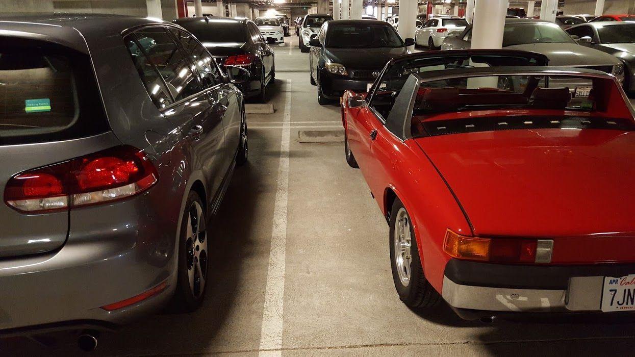 | 2012 Volkswagen GTI and 1974 Porsche 914