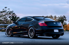 '13 Honda Accord Coupe on Concept One CS10's