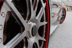 Tom Hildreth's GTH50 Ford Mustang on Center Locking Forgeline GA3C-SL Wheels