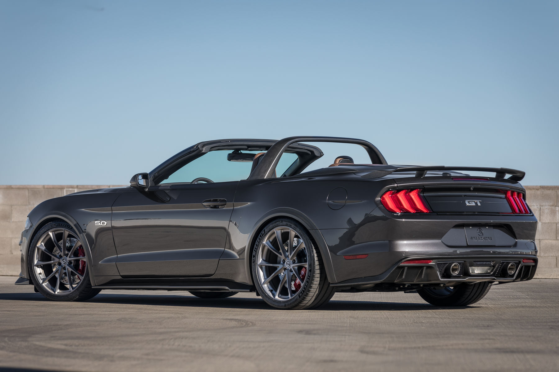 2018 ford mustang gt convertible by speedkore performance group fordsema