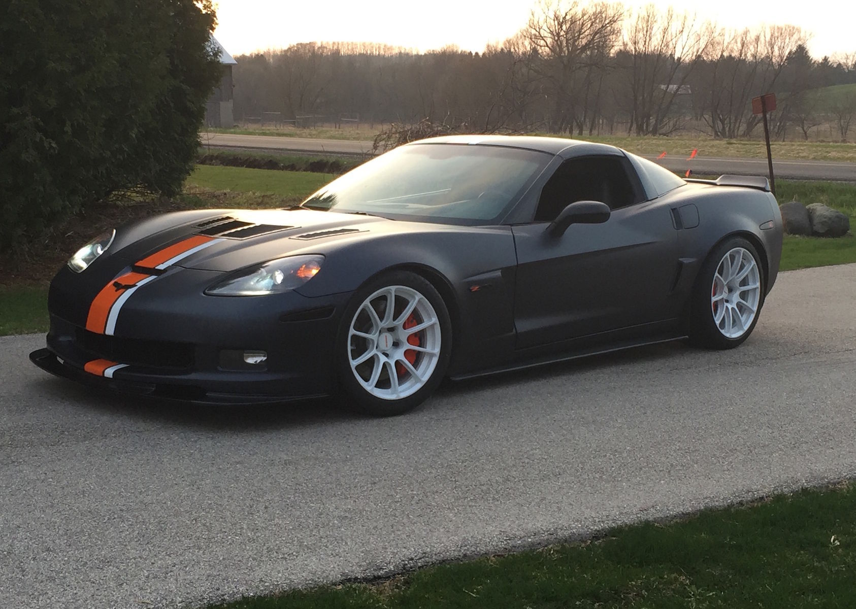 2008 Chevrolet Corvette Z06 | Randy Johnson's D&Z Customs C6 Corvette Z06 on Forgeline One Piece Forged Monoblock GTD1 5-Lug Wheels