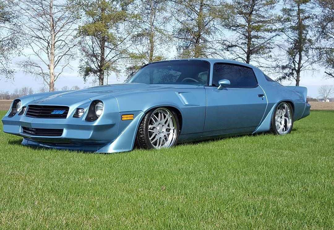 1981 Chevrolet Camaro | Scott Brown's LSA-Powered '81 Camaro Z28 on Forgeline DE3P Wheels