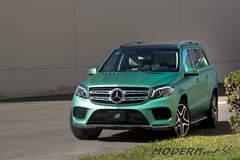 Mercedes Benz GLS 500 Matte Metallic Emerald Green Wrap