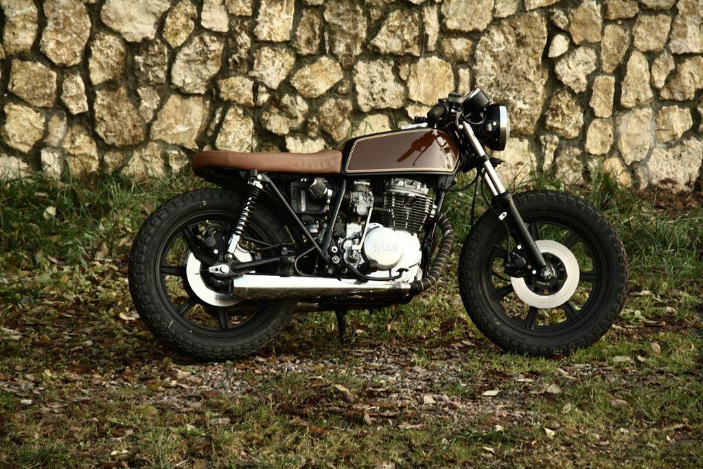 Yamaha XS400 | Classic Brownie by Ventus Garage