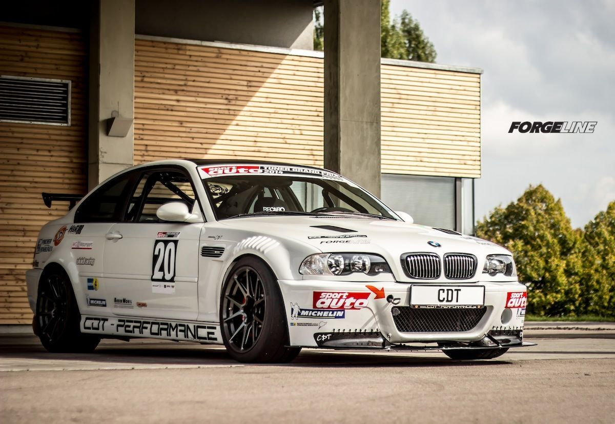 2002 BMW M3 | Rafael Riethmüller's BMW E46 M3 Reloaded Project on Forgeline One Piece Forged Monoblock GS1R Wheels