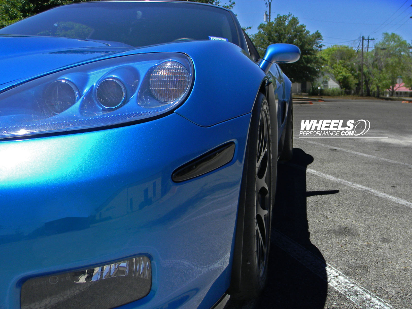 2009 Chevrolet Corvette | OUR CLIENT'S CHEVROLET CORVETTE C6 ZR1 WITH 19/20