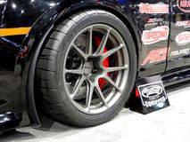 Ken Thwaits' Showtime Motorsports Camaro Z/28 on Forgeline One Piece Forged Monoblock GA1R Open Lug Open Lug Cap Edition Wheels