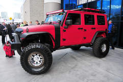 American Force Wheels SEMA 2015 - Jeep Wrangler