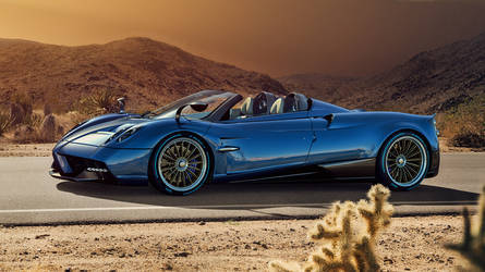 2018 Pagani Huayra | The New Pagani Huayra - Side Profile