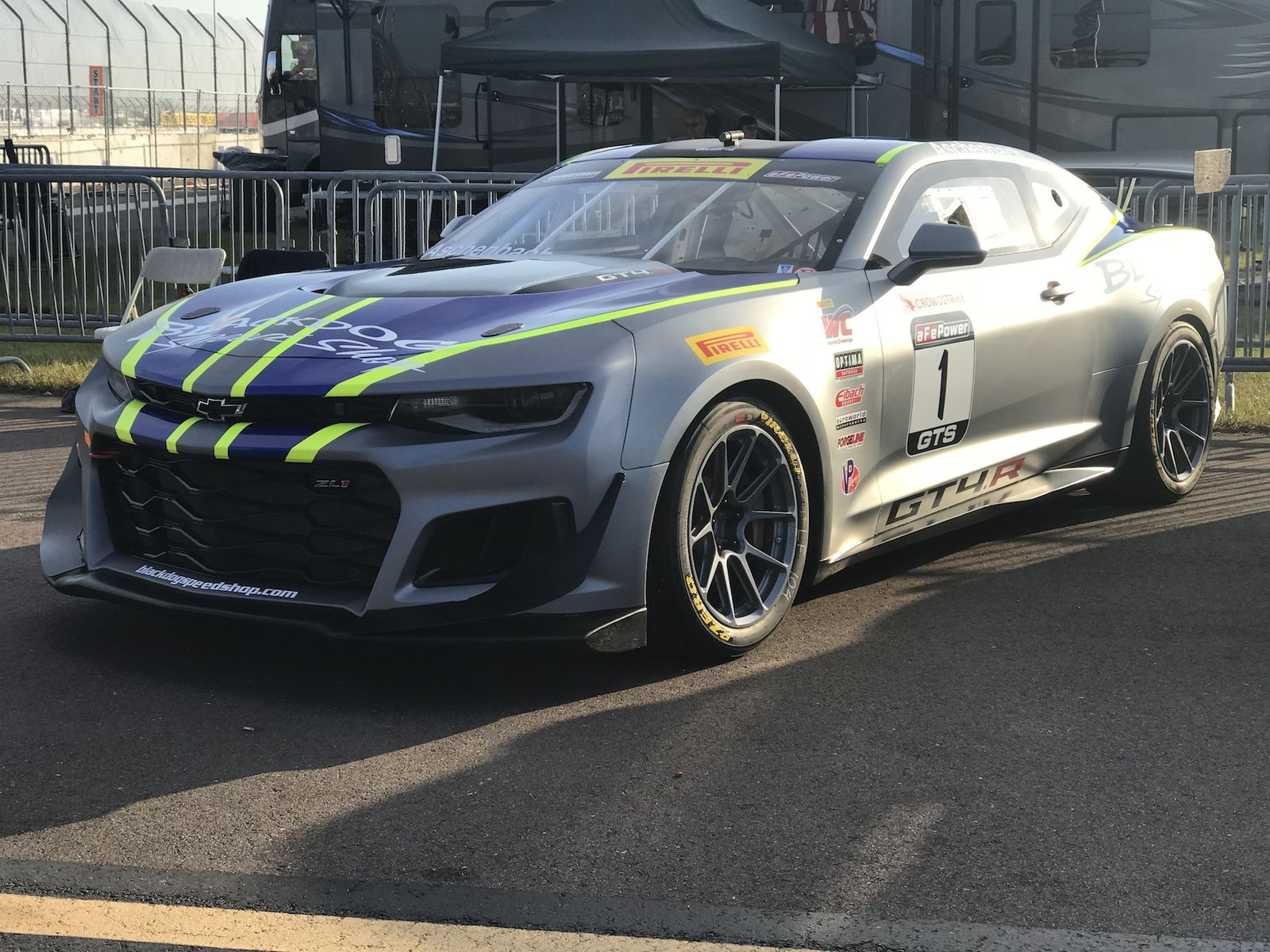 2017 Chevrolet Camaro | Aschenbach Scores Double Victory in Pirelli World Challenge Season Opener at St Pete on Forgeline One Piece Forged Monoblock GS1R Wheels