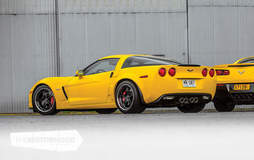 Mike's 1000+HP Twin Turbo C6 Corvette Z06 on Forgeline SP3P Wheels