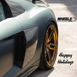 HAPPY HOLIDAYS!!!  Vossen Forged HC-1