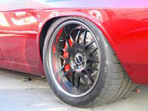 JB Granger's Corvair on Forgeline DE3P Wheels