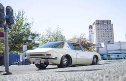 Laurie Peterson's 1963 Studebaker Avanti on Forgeline DE3S Wheels