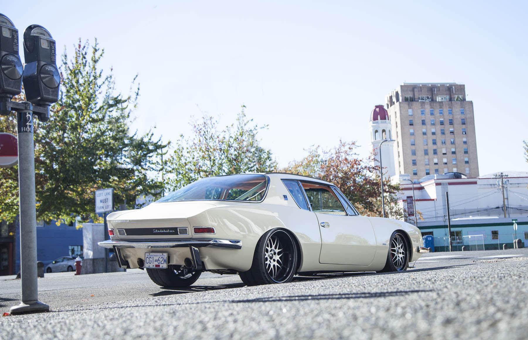 1963   | Laurie Peterson's 1963 Studebaker Avanti on Forgeline DE3S Wheels