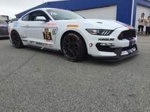 Compass360 Racing's IMSA CTSC GS-Class Ford Mustang GT350R-C on Forgeline One Piece Forged Monoblock GS1R Wheels