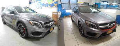Mercedes-Benz GLA completely wrapped with XPEL STEALTH