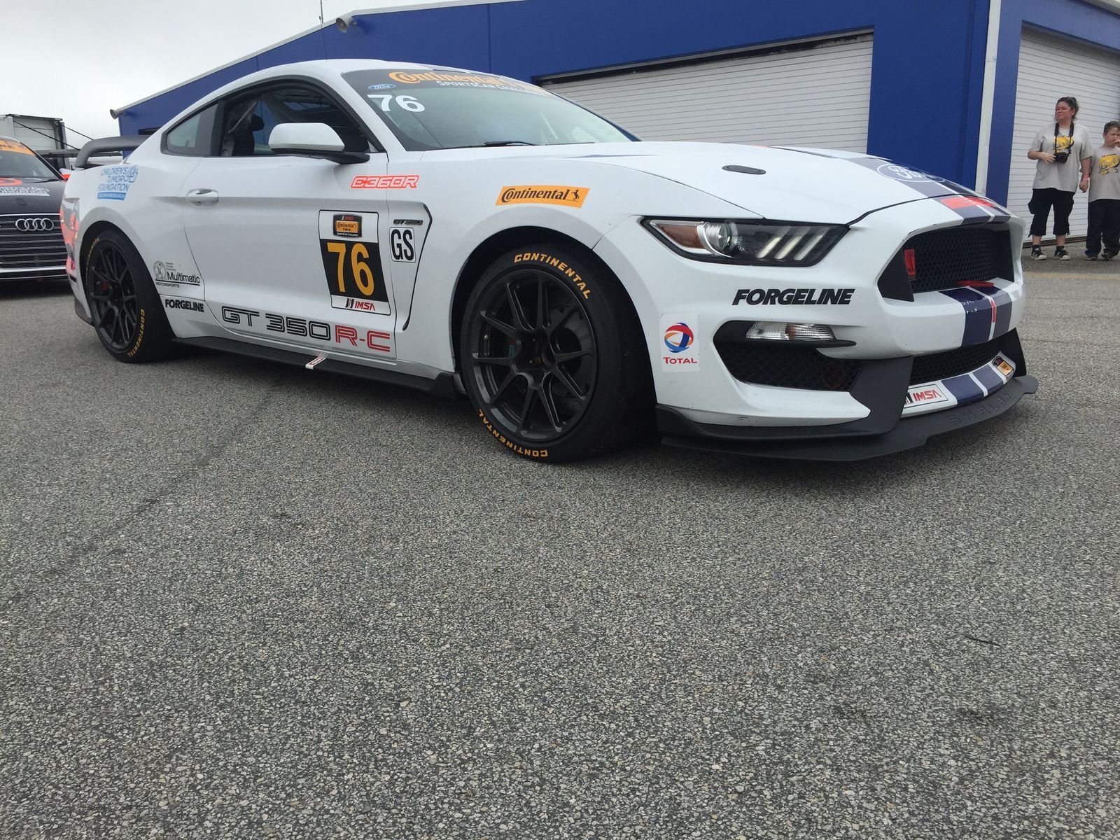 2016 Ford GT350R | Compass360 Racing's IMSA CTSC GS-Class Ford Mustang GT350R-C on Forgeline One Piece Forged Monoblock GS1R Wheels