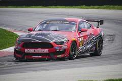 KohR Motorsports SCUDO Ford Mustang GT4 on Forgeline GS1R Wheels