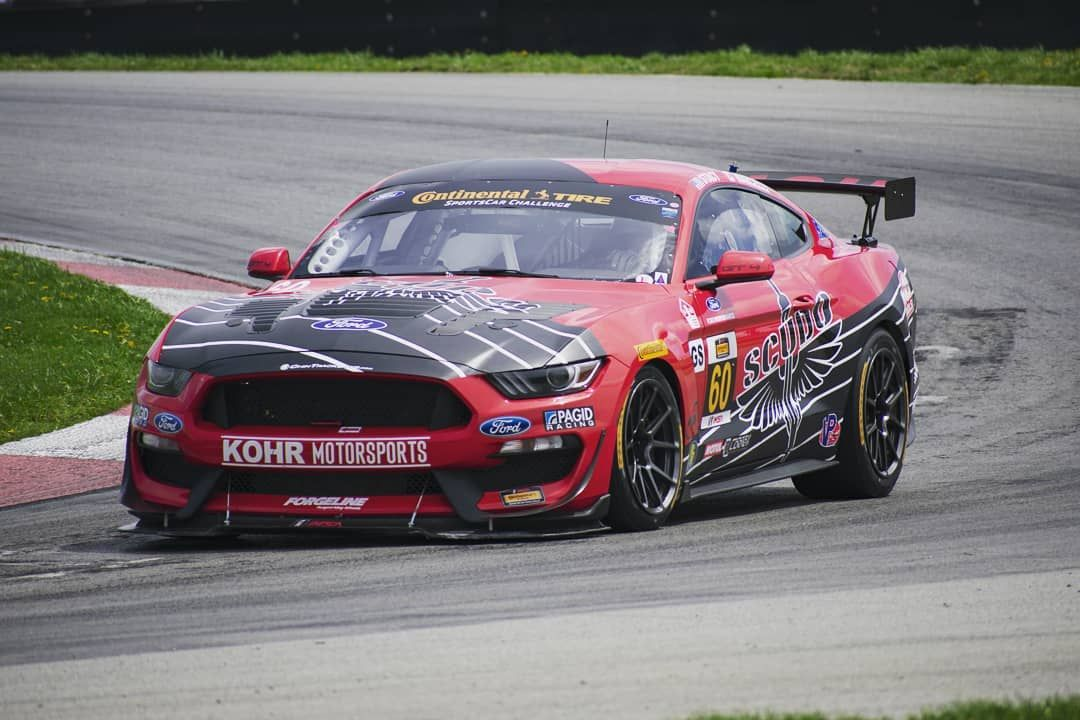 2018 Ford Mustang | KohR Motorsports SCUDO Ford Mustang GT4 on Forgeline GS1R Wheels