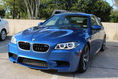 2014 BMW M5 with XPEL ULTIMATE