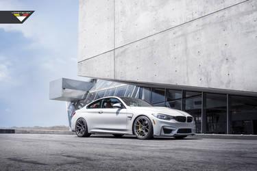BMW F82 M4 With Vorsteiner EVO Aero And Flow Forged Wheels