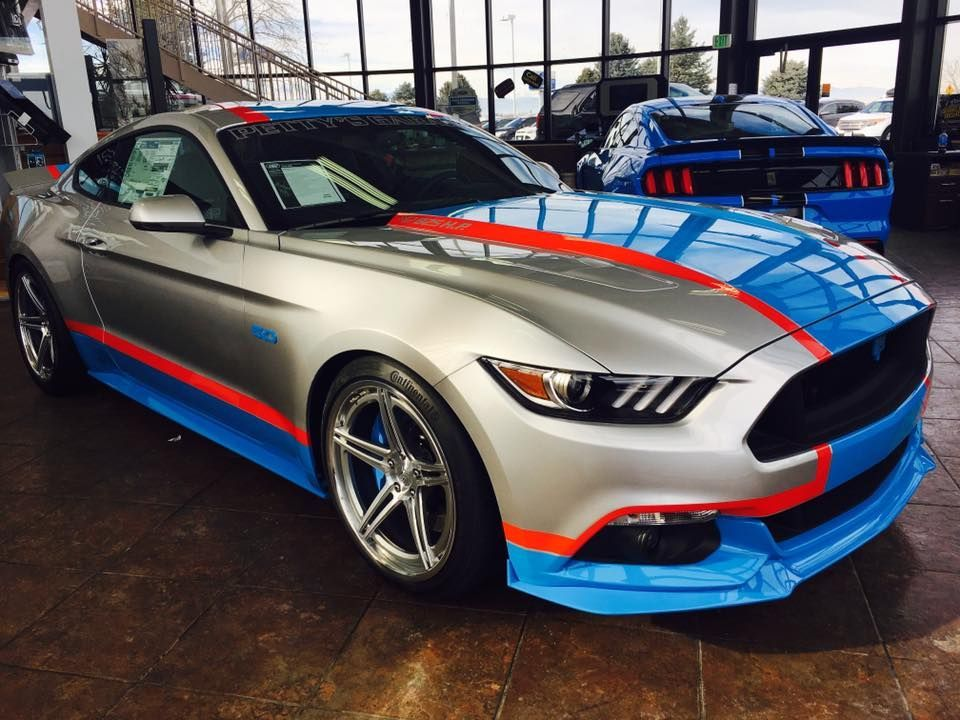 2017 Ford Mustang | Petty's Garage King Premier Edition Mustang on Forgeline SC3C-SL Wheels