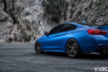 2014 BMW 4 Series   2014 BMW 435i on Aftermarket Vorsteiner V-FF 103 Wheels