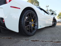 James Renner's Ferrari 458 Speciale on Forgeline One Piece Forged Monoblock VX1 Wheels