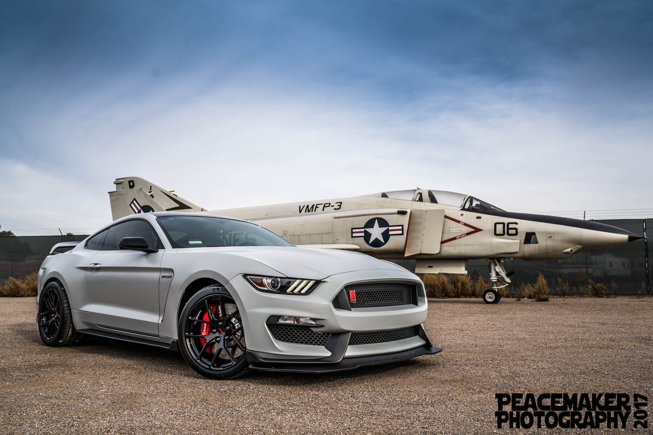 2018 Ford Mustang | Joe Gatt's Ford Mustang GT350R on Forgeline One Piece Forged Monoblock VX1R Wheels