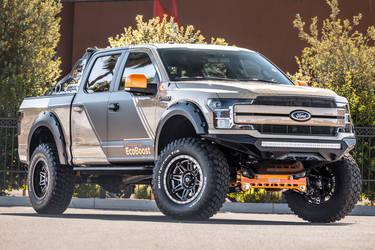 Ford F   Ford F  Lariat Supercrew By Cj Pony
