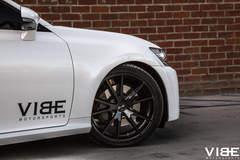 Lexus GS350 on Gianelle Wheels - Passenger Side Front Wheel