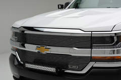 ZROADZ 2016 Chevy Silverado 1500 - Grille Shot and LEDs