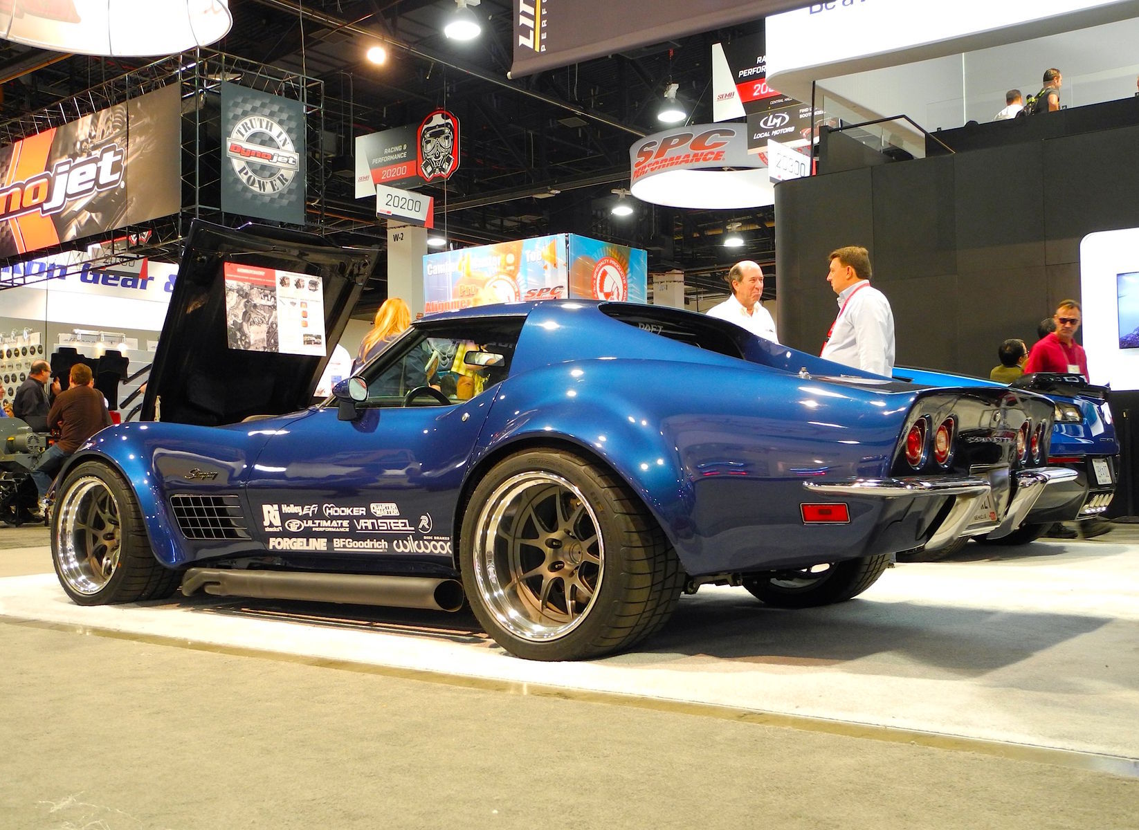 1972 Chevrolet Corvette | Danny Popp's 1972 LT-1 Corvette on Forgeline GA3R Wheels