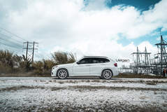 BMW X1 on Velgen Wheels  VMB5 Matte Silver  19x9 & 19x10.5