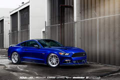 666 Supercharged Blue Devil Ford Mustang