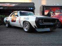 Jake Rozelle's '69 Camaro on Forgeline GA3R Wheels at the 2014 SEMA Show
